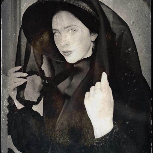 When you believe in things. That you don't understand, then you suffer. Superstition aint the way. . . Happy #fridaythe13th see you in October for another one 👻 . . . #supernatural #superstitious #gothic #halloween #mourning #black #victorian #gothaesthetic #horror #aesthetic #tintype #instagoth #scarlettohara #shewillnotconsideritsir #OHYESIWILL #spooky #ghost