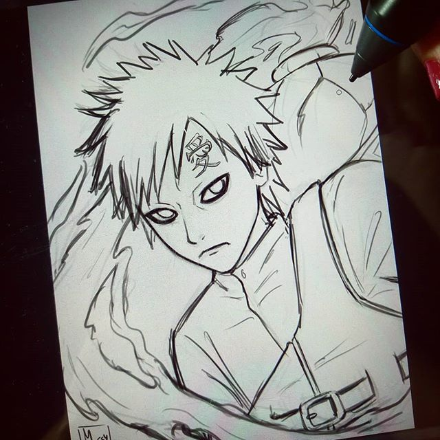 ¡Boceto de Gaara terminado! 🙌  Siguiente paso: papel y lápiz ✍️ Espero que os guste 💕 . . . #gaara #narutoshippuden #naruto #mashashikishimoto #fanart #sketch #digitalart #digital #photoshop #commissionsopen #commission #cintiq #cintiqcompanion2 #manga #anime #shonen #animearttr #mangaka_support #AnimeBreath #artshelp911 #animeartshelp #anime_arts_help #animeart_feature #animearttr #featuring_art #featuring_artwork #animeartassistant