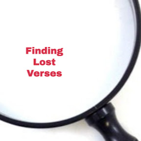 Finding Lost Verses