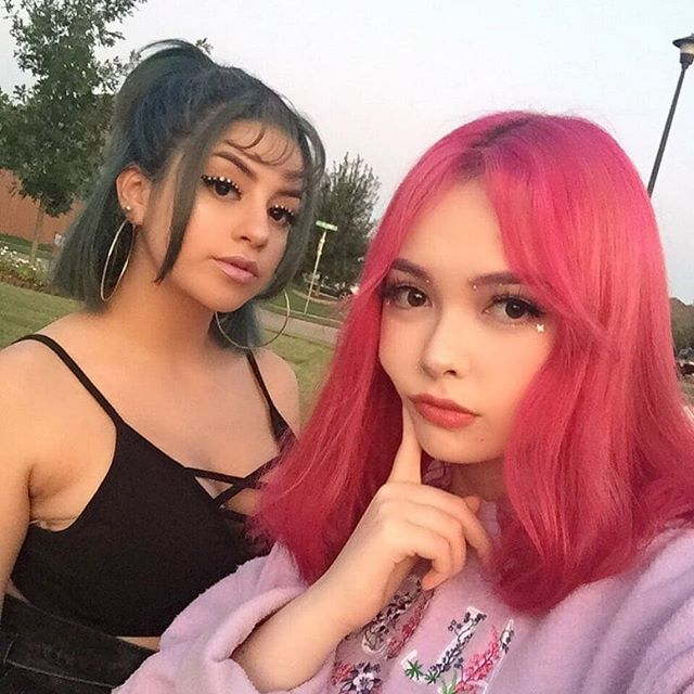 @euphoria cast us for season 2  We recreated @donni.davy @kirinrider makeup looks they did for the show euphoria on HBO