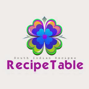 Recipe Table