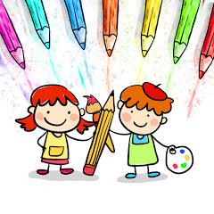 Zeichnen und Ausmalen für Kinder
