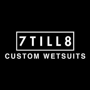 7TILL8 Custom Wetsuits