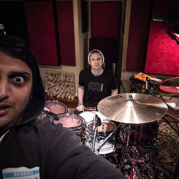 @charlieengen has finished drums for the next album! Recorded again by the homie @anupsastry Cant wait for you guys to hear it! . . . #scalethesummit #charlieengen #anupsastry #prog #metal #instrumental #