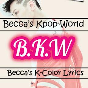 Becca's Kpop World