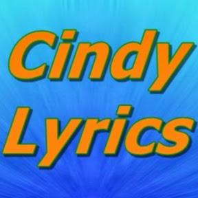 Cindy Lyrics