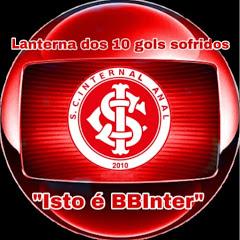 Lanterna Dos 10 gols sofridos Isto e BBInter