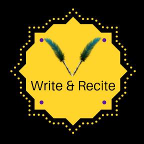 Write & Recite
