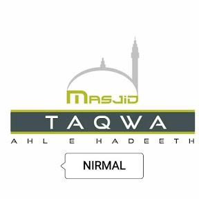Masjid-e-Taqwa As Salafiyyah Nirmal