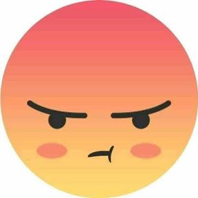 可愛生氣臉