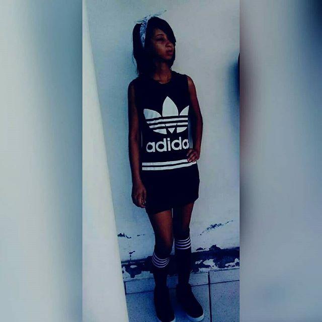 Fuck that she's beautiful 👊👽🍃 #mcbiiaofficial #mystyle #hiphop #taperoá #Bahia #brasil #adidas @nesk #bandana #blackandwhite