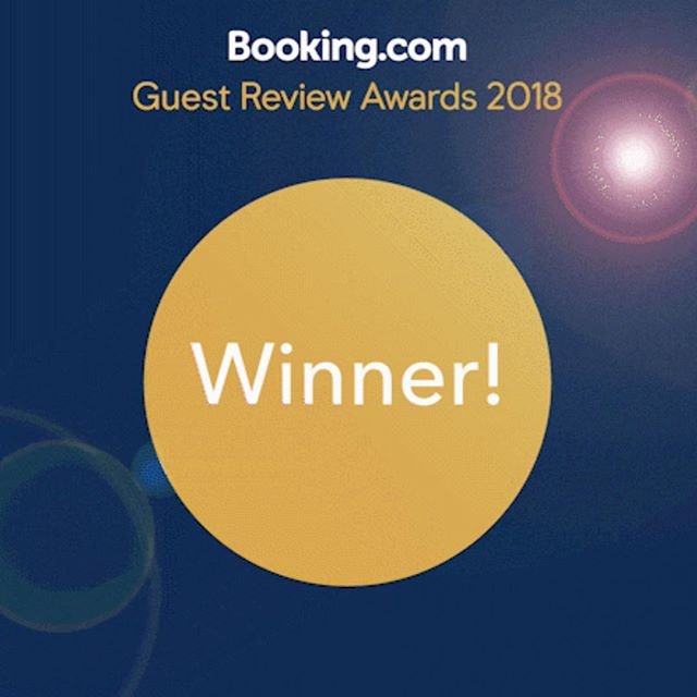"""🙏 We feel so blessed to be sharing this news that we have been recognised as the winner of the """"Guest Review Awards 2018"""" by Booking.com. Thank you so much to all our wonderful guest for showering us with so much love and support, for all the beautiful reviews and ratings. We love you all, and we shall remain forever grateful for your love and support.  Best wishes always, Three Jewels Family  #GuestsLoveUs #weloveguests 🙏☺️"""