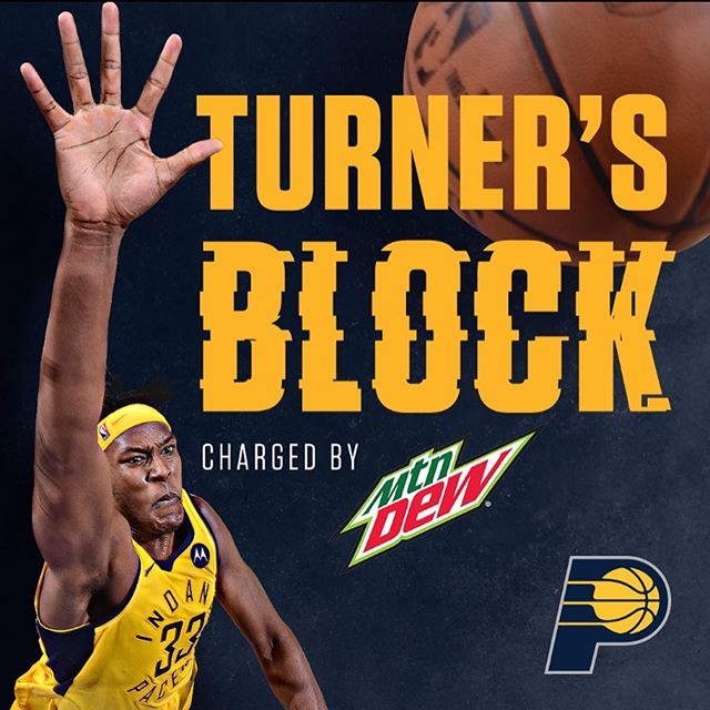 IF YOU KNOW YOU KNOW!  I'm excited to bring back Turner's Block charged by @MountainDew for a 4th season! Come Be A Part Of one of the prides of @pacers Basketball! I'm going to need the loudest, craziest fans to bring it EVERY NIGHT and I mean EVERY night... Want in? Sign up to audition at Pacers.com/FanZones last day to audition is Monday The 16th