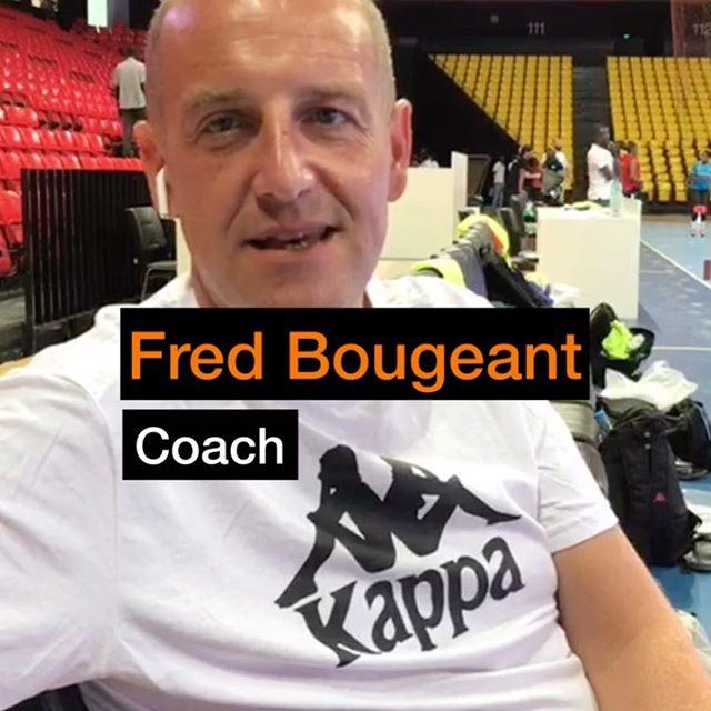 Interview Fred Bougeant , coach des Lionnes du Handball