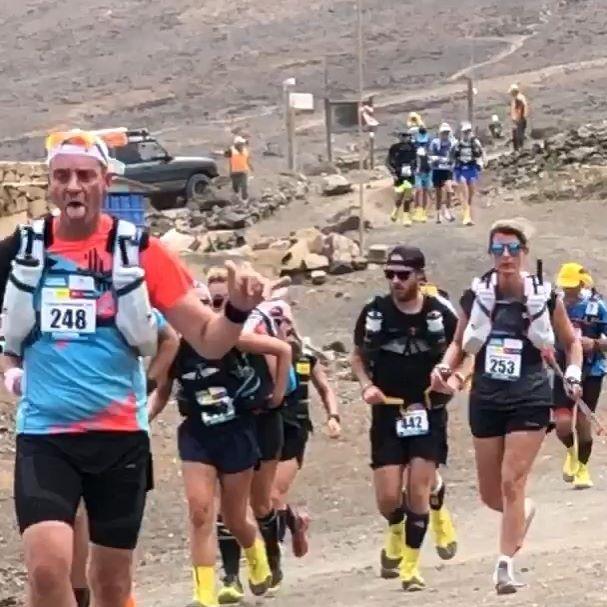 Half Marathon des Sables Fuerteventura's first stage