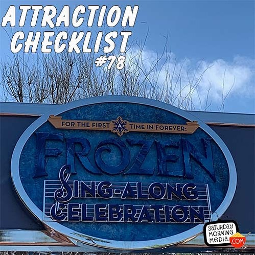 AttractionChecklist.com - New Attraction Checklist is here! Guest host @sstaver sets up @pianojohn1 and I's trip to @waltdisneyworld to see For The First Time In Forever: A Frozen Sing-Along Celebration. Join us