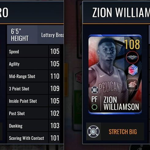 Welcome to nba live mobile, where Tyler Herro has better agility, dunking, and scoring with contact than Zion Williamson #nbalivemobile #nbalive #nba #nba2k #basketball
