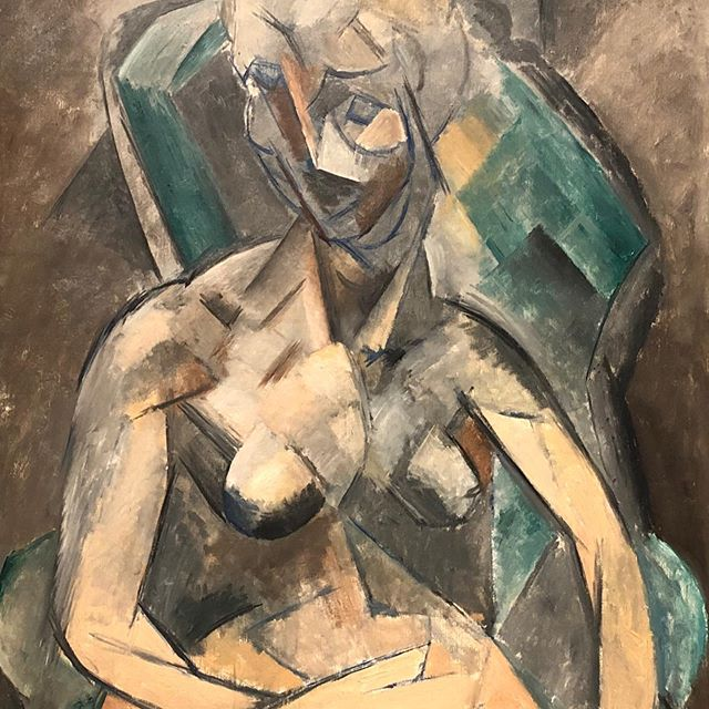 M O N O C H R O M A T I C . . . Young woman 1909 by #pablopicasso  #tbt #moscow #art #travel #pleasure #joy #inspiration #iloveart