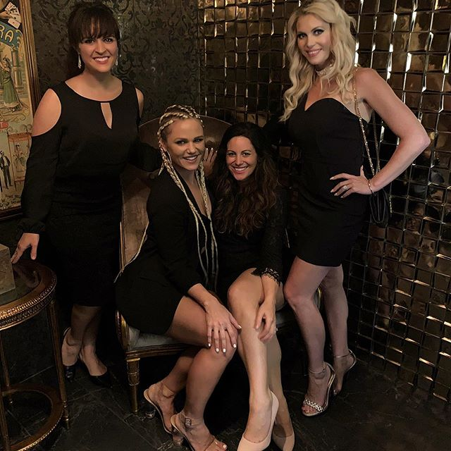 """When the house rules at @hocnashville are """"no photography allowed"""", you bend the rules in the bathroom 🤫📸 EPIC birthday evening with some of the most phenomenal women I have the pleasure of knowing in this life!! You each have such a precious place in my heart, and I love you to the moon....and back❤️❤️ . . . . . . . . #HouseOfCardsNashville #DinnerAndMagic #BirthdayLove #NashvilleBathrooms #Swanky #MyGirls"""