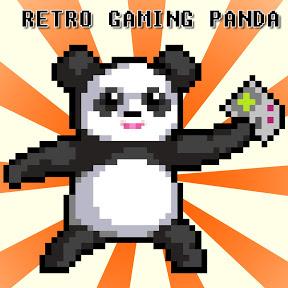 Retro Gaming Panda