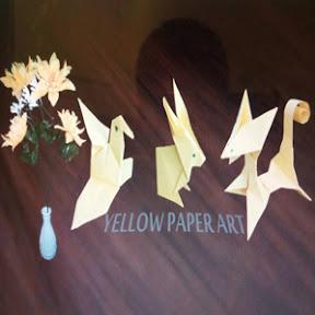 Yellow Paper Art