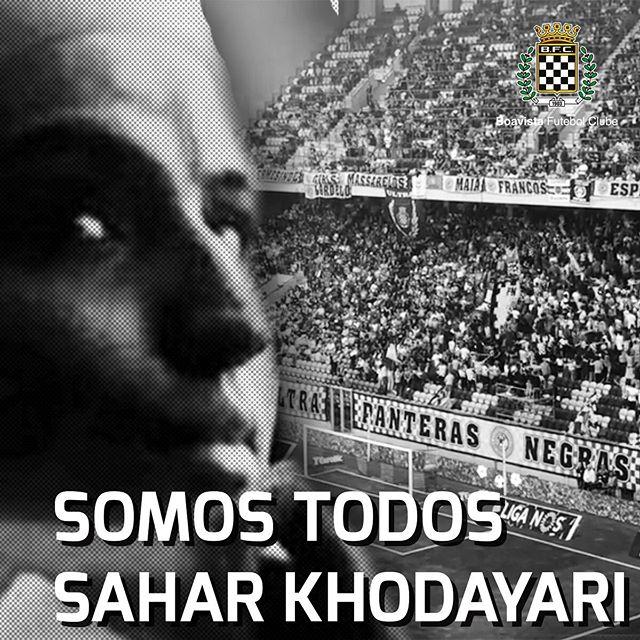 Sahar Khodayari, uma jovem iraniana, quis assistir a um jogo da sua equipa, o Esteghlal, no Estádio.  No Irão, as mulheres estão proibidas de assistir a jogos de futebol nos estádios e, por esse motivo, foi detida e sentenciada a 6 meses de prisão.  Khodayari, acabou por se imolar em frente ao tribunal até que sucumbiu aos ferimentos auto-infligidos.  Direitos que damos por adquiridos, como apoiarmos a nossa equipa do coração, em muitos locais, não estão acessíveis a todos. O apartheid de género continua a existir e com graves consequências.  O Boavista lamenta profundamente o sucedido e deseja que o futebol sirva para encurtar diferenças, nos una e que seja, cada vez mais, mais do que um esférico a rolar. #bluegirl
