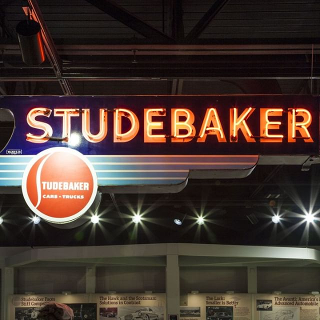 Studebaker neon is the best neon!