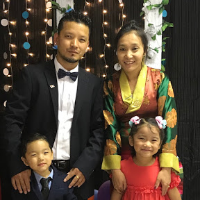 Tibetan Family in Belgium