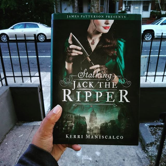 """Happy Monday Everybody!  Beautiful Cool Morning!😎 📚💀📚💀📚💀📚💀📚💀📚💀📚💀📚💀📚💀 I'm joining @hooked.by.books this month challenge will fantasy reads this whole September month.  #hookedonfantasy 💀☠️ 🚨 Review 🚨 💀☠️ This book keeps you on the edge of your seat during the whole book. It says at the back """"I was the girl who lover the Ripper."""" and honestly? I really thought that from the start I knew who the Ripper is and at every turn of events I kept thinking """"could it be that it actually isn't that person?"""". Kerri truly has made sure that you won't know anything and it will be really hard to identify the Ripper! At first I was a bit wary about this book and kept thinking """"what is the point of reading this since it tells you the answer at the back of the book?"""". But oh how wrong I was, or maybe my brain is just too simple to think anything else. Never mind, this was some true mystery and I really enjoyed it. My brain really had to work through the book and try to think who's behind all this. And the ending got me by surprise, truly. 💀☠️ Stalking Jack the Ripper by Kerri Maniscalco #stalkingjacktheripper #kerrimaniscalco 💀☠️ Buddy Reading with  @tobooksandbeyond._ #tbabmonthpick This is September pick! So join Everybody, this is so fun. 💀☠️ 4.5 stars ⭐⭐⭐⭐🌠 My full review is on GoodRead and Amazon. 📚💀📚💀📚💀📚💀📚💀📚💀📚💀📚💀📚💀 #bookstagram #bookaddict #booknerd #bookworm #booklover #bookreader  #bookaddiction #bookmom #yafiction #bookheaven #bookwormmommy #ya #yareads #fantasyreads #booknerdmommy #booksleeves #bookmommy #bookaddicted #bookstagrammer  #bookiehelper #bookiehelpers  #bionicbookbabes #bookwineandmetime #bookbuds2"""