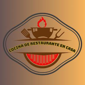 Cocina de restaurante en casa