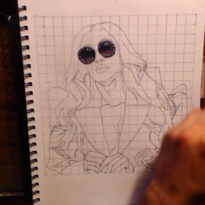@tamiroman drawing coming soon 😎 - - #art #artwork #tamiroman #artist #portrait #post #instaartwork #sketch #sketchbook #drawing #drawingvideo #draw #detail #details #hyperrealism #artistsofinstagram #prismacolor #carandache #instaart #instaartist #follow