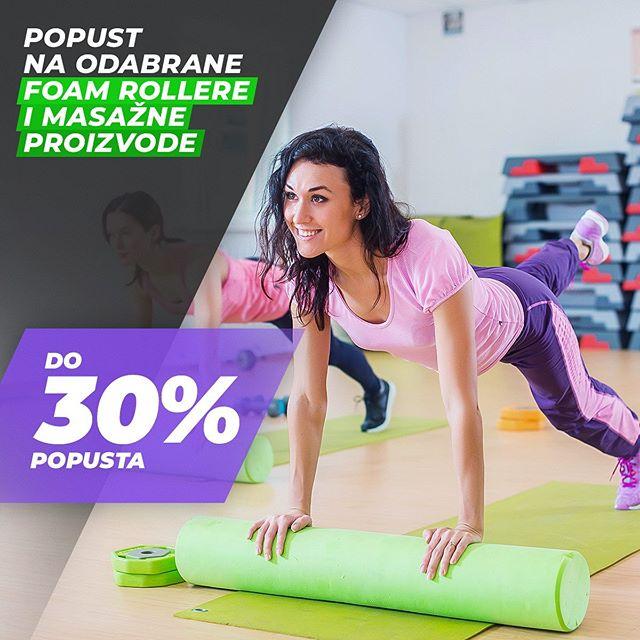 Ubrzaj oporavak nakon treninga i postigni još bolje rezultate. 😁 Iskoristi akciju i naruči sada foam rollere i proizvode za masažu po odličnim akcijskim cijenama... 🛒 👉 Link na webshop je u opisu profila. #fitnesscomhr #budifit