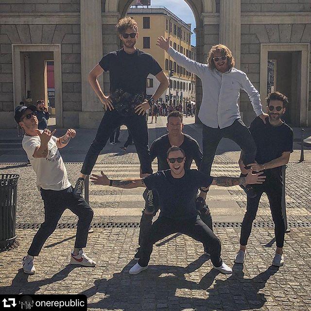 When in Italy...#OneRepublic #repost @onerepublic