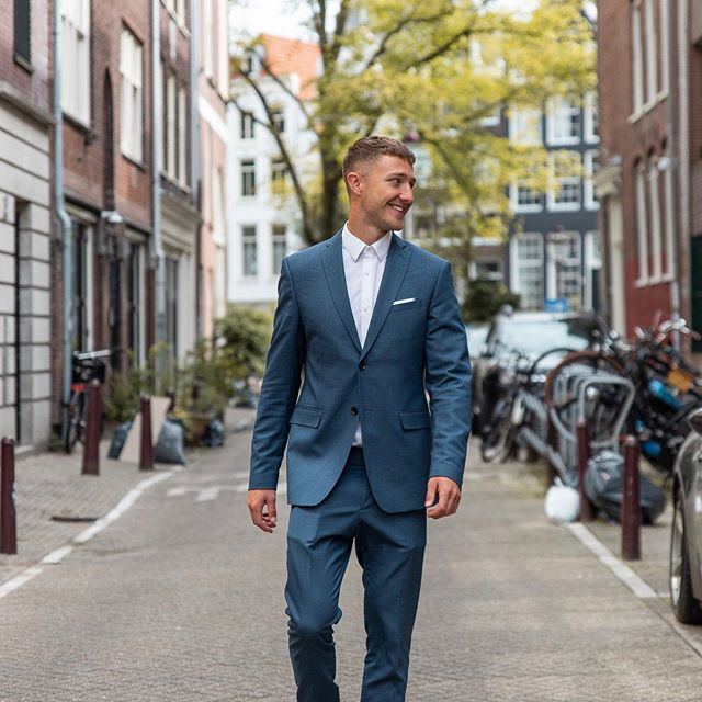 Amsterdam is something else! Thank you for having us, until next time💕☀️    #amsterdam #amsterdamworld #suit #amsterdamcanals