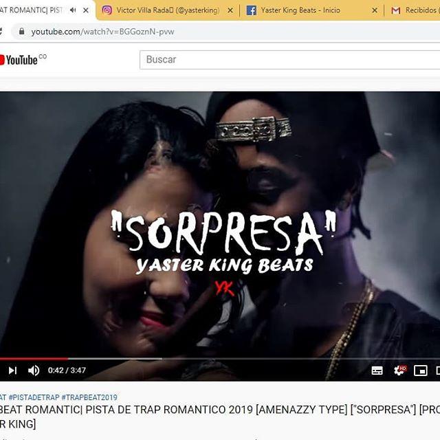 """Nuevo Instrumental de Trap Romántico ❤️🎶 estilo Amenazzy 🔥 """" S O R P R E S A """". 🎁❤️ Disponible en YouTube ▶️ Link en bio ✔️ #trappers #trapmusic #traplatino #trapromantico #trapbeats #trapbeat #trapbeatz #music #musica #2019goals #2019music #2019 #singers🎤 #singers #singer #romantic #romantico #amenazzy #amenazzi #elnenelaamenaza #elnenelaamenazzy #rd #republicadominicana #colombia"""