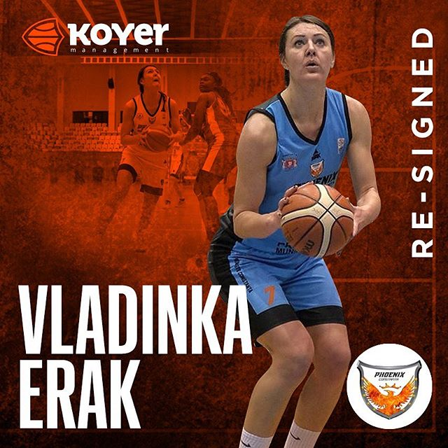 @vladinkaerak is ready to shine again @clubsportivphoenixconstanta Another season in Romania 🇷🇴 #KoyerSport