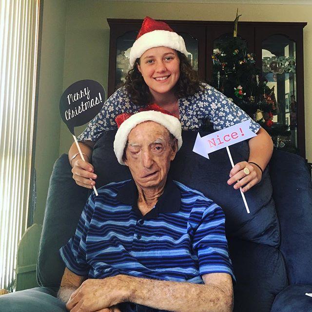We love you so much Popeye!!! 💙💙 Hope everyone had a wonderful Christmas I sure did! ✨