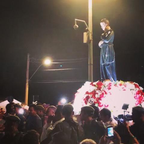 Chegada do andor de São Geraldo! A Festa foi linda, parabéns aos Missionários Redentoristas da Basílica da São Geraldo, que Deus abençoe!  @basilicadesaogeraldo  #Redentorista #SãoGeraldo