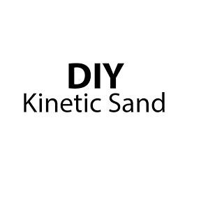 DIY Kinetic Sand