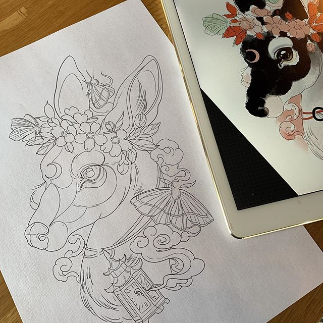 Available design! I drew this for a client I was sure would be coming to an appointment but after getting to work realised they never confirmed 😞 please email me to give this a home! Drawn for the side of the side of a thigh but open to placement 💔 please send me a photo of the area you would like it to go on! I'm gunna try to get this booked in ASAP! Even today if you can get here? 🤷🏼♀️ #wishfulthinking
