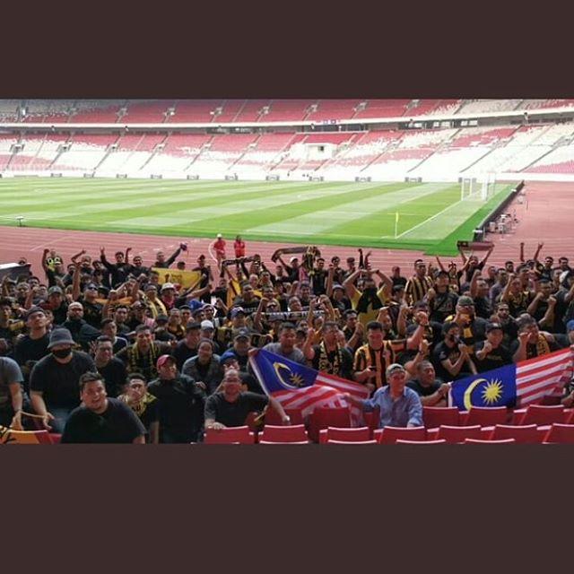 Terimakasih telah menjadi pemersatu suporter seluruh indonesia!