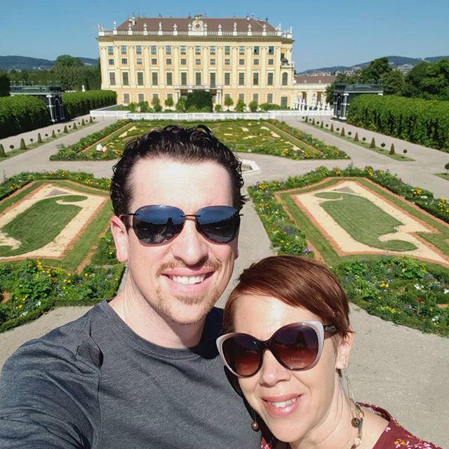 The palace grounds at #schönbrunn #vienna #austria are amazing! 🇦🇹