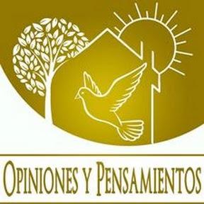 opiniones y pensamientos