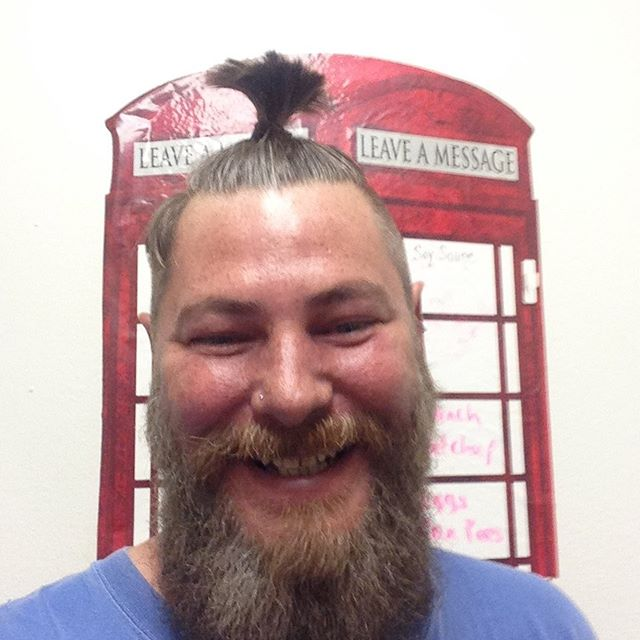 Before clay mask #austintexas #beards #gaybeard #gaytattoos #tonightsbigloser #atx