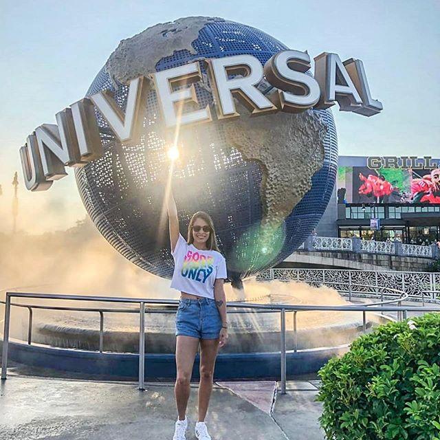 Hoje eu sou a Universal!