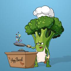 Angry Broccoli Recipes