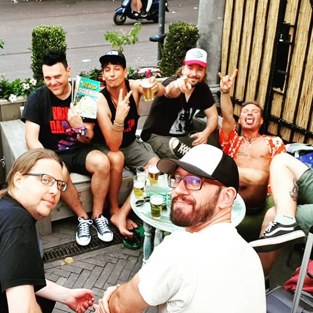 Gang is together @butfilmfestival #retromaniacs #breda #vhs #trash #beer #beertuin
