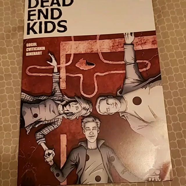 #DEADENDKIDS #2 by @frankgogol from @sourcepointpress - Catching up over the weekend and playing with some video effects. Let me know what you think! - #dek #sourcepointpress #igcomicsfamily #indypublisher #COMICBOOKS