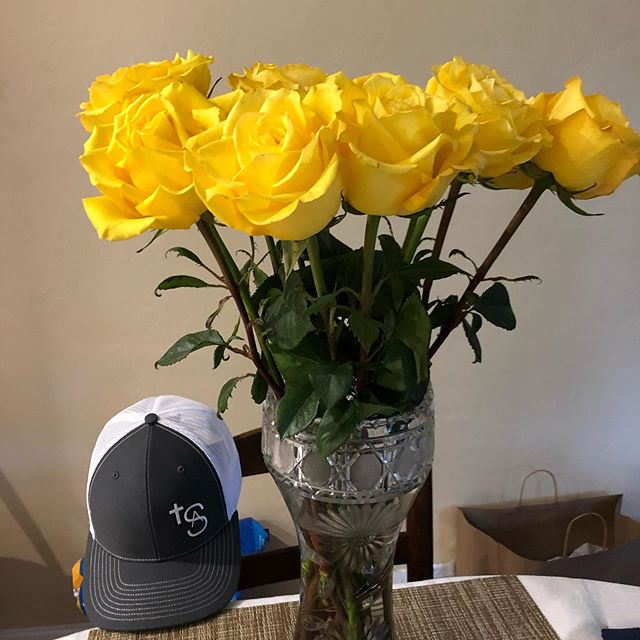 Thank you Sebring Florist and Susan Burtscher Bible for keeping my grandmother's antique, cut-glass filled each week with gorgeous roses!! The yellow roses have so much significance to me and keep help to keep Andrew part of me each and everyday!! Andrew was just as bright, spirited, and lively as these joyous roses!! ❤️ AWS❤️🙌🏼🥰