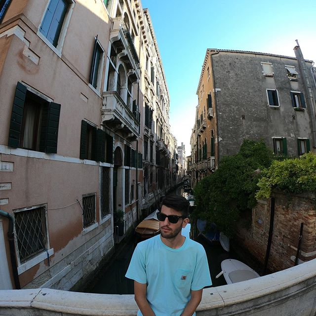 My first time in Venice. Love it! ❤️ #Venice#venezia#italia#italy#me#travel#trip#picoftheday#bestoftheday#gopro